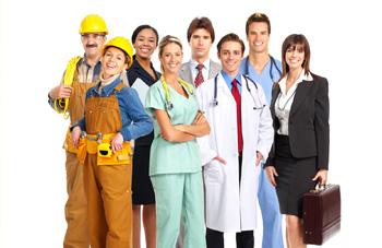 immagine generale di lavoratori